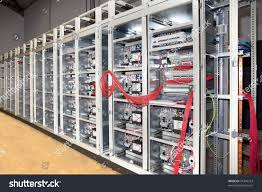 electrical panel board construction detail stock photo 41349754