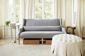 Before  After Ballard Designs Bridal Suite How To Decorate - Ballard design sofa