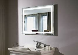 Heated Mirror Bathroom Cabinet Hib Zenith Back Lit Steam Freeror With Shaver Socket 450x800