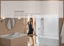 Kohler Kitchen Bath Plumbing Fixtures Sinks Toilets Bathtubs Sterling Bathroom Fixtures