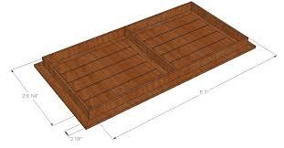 attractive cedar patio table plans bryans site diy cedar patio