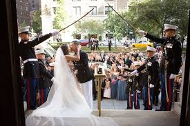 Wedding Arch Nyc Storybook Military Wedding At The New York Public Library Inside