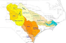 Jordan River Map Nc Deq Cape Fear Neuse Combined River Basin Model