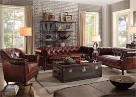 Leather Sofas Aberdeen Aberdeen Acme Top Grain Leather Sofa Collection