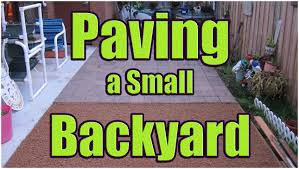backyards cozy laying pavers on sand or gravel paving backyard