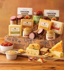 sausage gift baskets gourmet sausage and cheese gift harry david