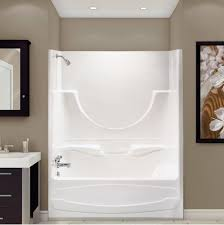 shower enclosures alcove white mountainland kitchen u0026 bath