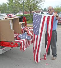 How To Dispose Of An American Flag When Torn Flags Still Being Taken For April 29 Retirement Ceremony News