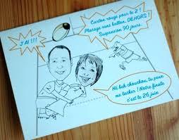 texte felicitation mariage humour faire part thème rugby et caricature préparation mariage de l