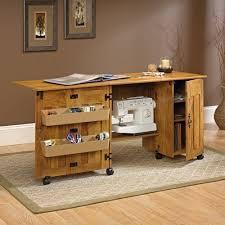 drop leaf craft table craft table sewing machine storage cabinet shelves drop leaf folding