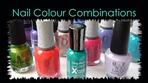 nail polish colour color combinations accent nails youtube