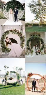 wedding arches definition top 20 pretty circular wedding arches for 2018 trends