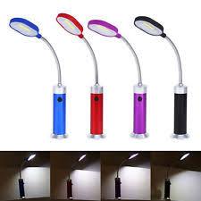 Battery Operated Desk Lamp by Led Flexible Work Light Ebay