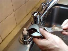 how to remove a kitchen sink faucet replace a moen kitchen faucet cartridge