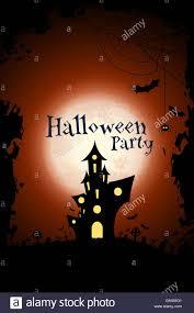 halloween vector art illustration of halloween party invitation poster banner or