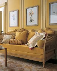 Yellow Livingroom by Decorating With Fall Colors Martha Stewart