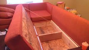 Indoor Storage Bench Design Plans by Diy Storage Sectional Free Plans Also From Ana White Com Also
