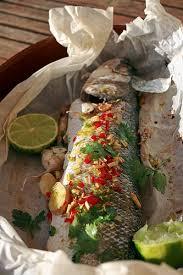 cuisiner le bar en papillote bar thaï en papillote chez becky et liz de cuisine anglaise