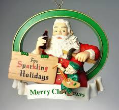 coca cola trim a tree 1936 christmas ornament sparkling holiday