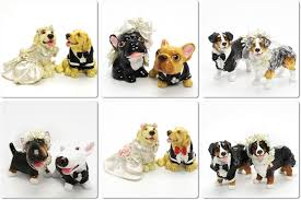 dog wedding cake toppers madamepommcustomorder dog cake toppers ceramic table top