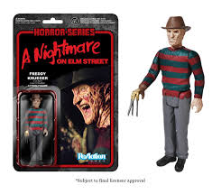 Chucky Doll Funko Horror Classics Freddy Krueger Reaction Figure