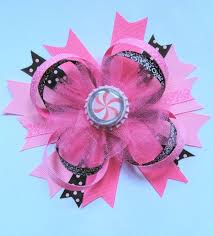 boutique hair bows zebra print with bottle cap in center boutique hair bows buy