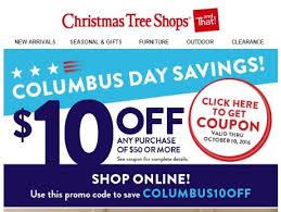 christmas tree coupons christmas tree shops coupon 10 off 50 or