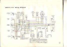 73 75 kawasaki f11 wiring motorcycles pinterest