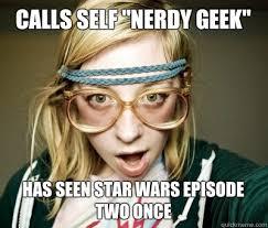 Star Wars Nerd Meme - double majored in minority women s studies and sanskrit we are the
