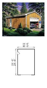 Grage Plans 27 Best One Car Garage Plans Images On Pinterest Garage Plans