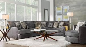 Sectional Living Room Sets Skyline Drive Gray 5 Pc Sectional Living Room Live It