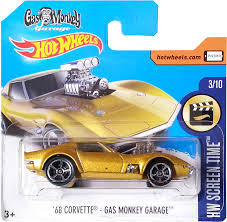 gas monkey cars u0026 39 68 corvette gas monkey garage model cars hobbydb