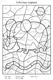 coloriage magique ce1 conjugaison coloriage magique cp grammaire