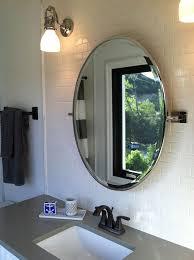 White Oval Bathroom Mirror Bathroom Ideas Wooden Carve Framed Oval Home Depot Bathroom