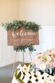 bridal luncheon decorations bridal shower welcome sign diy your own www etsy shop