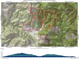 Mt Diablo State Park Map by Sugarloaf Ridge State Park 24 September 2005