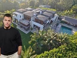 confirmed matt damon buys u0027best house in pacific palisades u0027 curbed