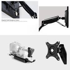 Auto Laptop Desk by Adjustable Laptop U0026 Monitor Dual Arm Desk Mount Bracket Thingy Club