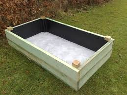 Backyard Planter Box Ideas Decor U0026 Tips White Raised Planter Boxes Ideas With Grass Spread