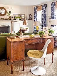 desk for living room how to arrange a desk in the living room megan morris