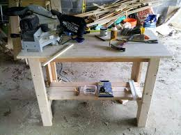 shop plans and designs shop workbench plans free build this simple with drawers woodwork