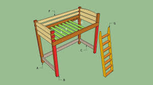 Free Loft Bed Plans Twin by Loft Beds Cozy Free Loft Bed Plans Design Trendy Style Junior