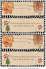 printable gingerbread man gift tags 1034 best gingerbread man printables images on pinterest