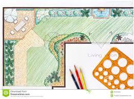 full image for wondrous backyard garden plan with stone patio
