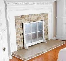 Fireplace Opening Covers by Decorative Fireplace Covers U2039 Decor Love