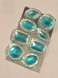 edible jewels assorted edible cake jewels aqua blue