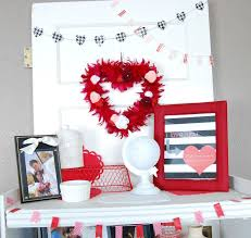 lovely home living room valentine day decor showcasing remarkable