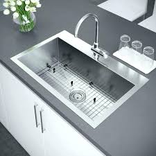 Single Bowl Kitchen Sink Top Mount Breathtaking Kitchen Sink Top Inch Top Mount Drop In Stainless