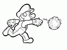 sonic and mario coloring pages pictures for printing coloring home