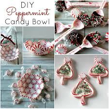 easy diy peppermint candy crafts candy crafts peppermint and craft
